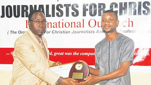 Punch correspondent wins JFC media award