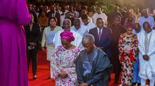 God's grace delivers, not human efforts – VP Osibajo